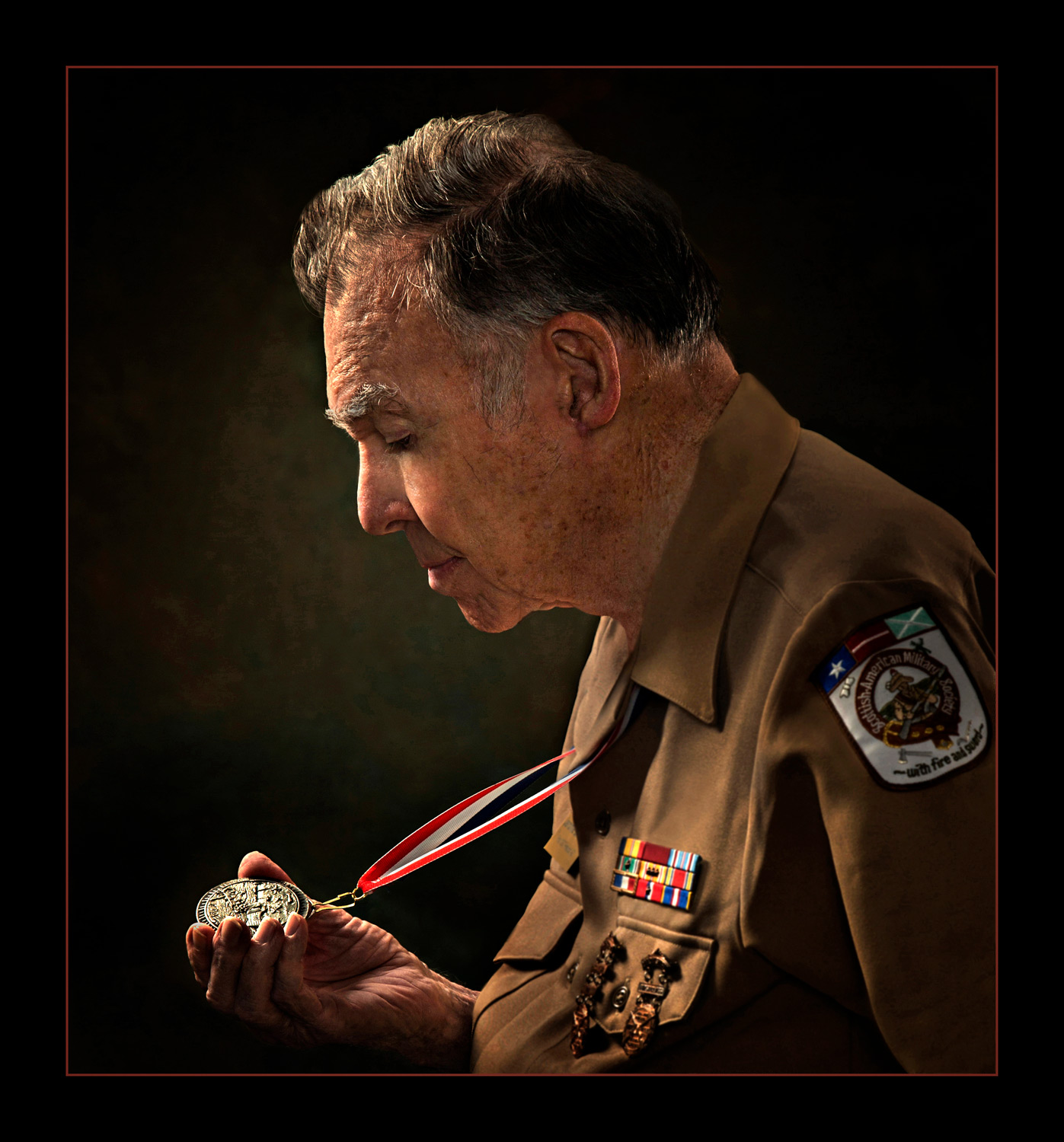 Veteran Jerry Welna, who fought during World War II